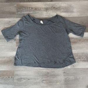 Free People | Gray T-shirt